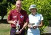 Trophée Seniors de La Freslonnière: Didier Renou et Fabienne Roux-Brionne.